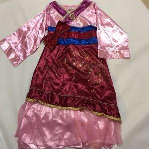 Mulan Disney Store Dress Costume NWT 7/8